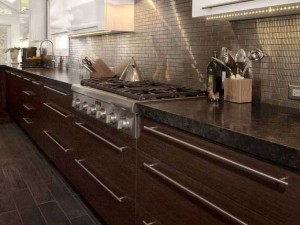 Warm Stained Wood - DDK Kitchen Design Group